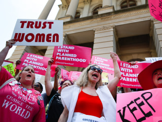 Georgia's law that blocks most abortions is unconstitutional, lawsuit says