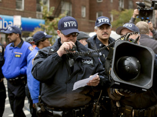 'Plug your ears and run': NYPD's use of sound cannons is challenged in federal court