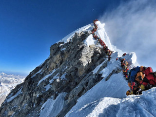 Before fatal descent, British climber wrote he feared Everest overcrowding could prove deadly