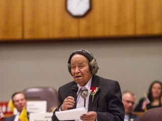 John Pinto, WWII Navajo Code Talker and longtime New Mexico lawmaker, dies at 94