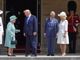 Trump meets Queen Elizabeth II on state visit after calling London mayor a 'loser'