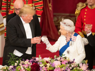 Royals welcome Trump to Britain
