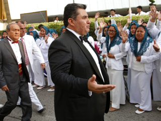Mexican church leader of La Luz del Mundo charged with child rape