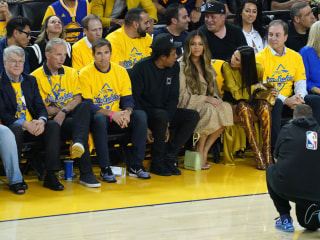 Wife of Warriors owner reportedly gets death threats after viral clip of her talking to Jay-Z