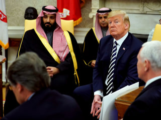 Dem, GOP senators want to check Trump's power to sell arms to Saudis
