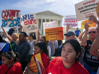Supreme Court tosses citizenship question from 2020 census forms, a victory for Democratic states