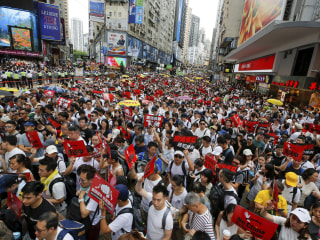 Hong Kong hit with more protests over proposed extradition law