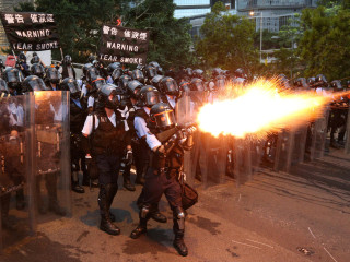 At least 72 injured in violent Hong Kong protests over extradition bill