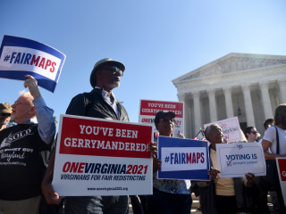 Supreme Court blocks suit over racially gerrymandered districts in Virginia