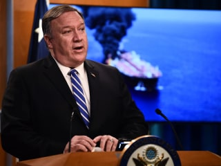 Pompeo to meet with U.S. commanders amid growing crisis with Iran