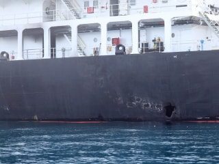 Gulf tanker sabotage: U.S. says mines bear 'striking resemblance' to Iranian devices