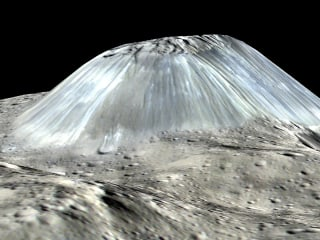 Dwarf planet Ceres' 'lonely mountain' mystery has been solved