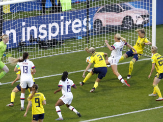 U.S. women beat Sweden at World Cup 2-0, complete group play undefeated