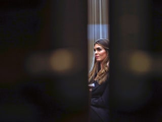 Hope Hicks stopped 155 times by White House lawyers from answering lawmakers' questions