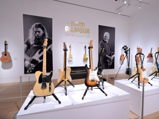 Pink Floyd's David Gilmour auctions guitars for $21 million to fight climate change