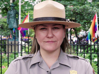 'Don't ask, don't tell' veteran becomes first Stonewall park ranger