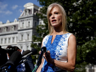 House panel votes to issue subpoena for Kellyanne Conway