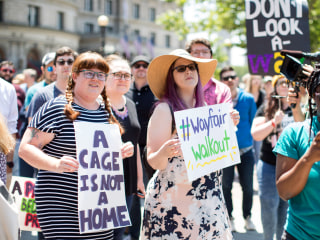 Wayfair workers walkout to protest company's furniture sale to migrant detention center
