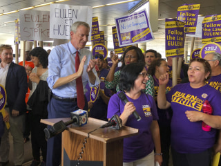 De Blasio apologizes after quoting Che Guevara at South Florida rally