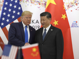 Trump says U.S. will hold off on new China tariffs as trade talks restart