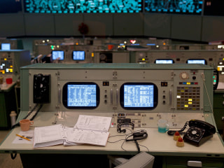 50 years after moon landing, Mission Control is painstakingly recreated