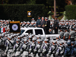 Mexico deploys National Guard to counter rising violent crime