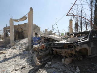 U.S. hits al Qaeda training camp in Syria
