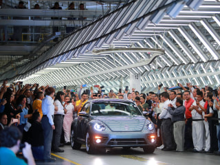 Eight decades later, the last Beetle rolls off the production line