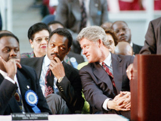 1992: Bill Clinton builds a winning coalition, Jackson is diminished