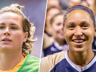 U.S. women's national team star Ashlyn Harris says fellow soccer player is 'homophobic'