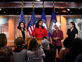 'The agenda of white nationalists': AOC, other congresswomen respond to Trump's attacks