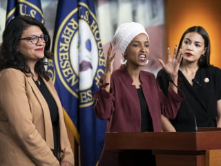 Fact check: Trump says Rep. Omar 'proud' of al Qaeda
