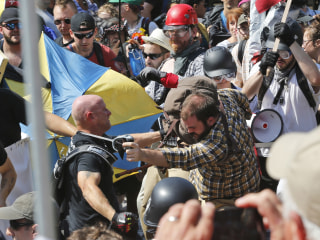 3 members of white supremacist group sentenced for violence at rallies