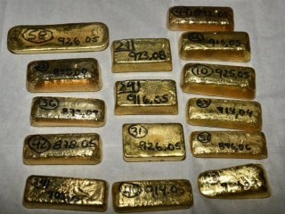 Almost $5 million worth of gold bars seized at Heathrow Airport