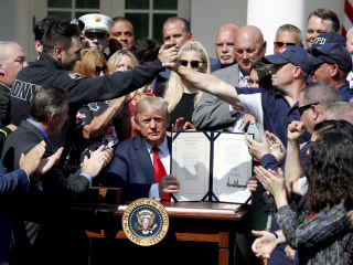 Trump signs bill ensuring 9/11 victims fund will never run out of money