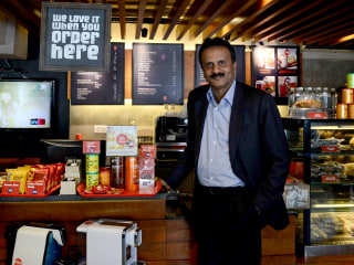 Indian coffee shop chain owner's body found in river