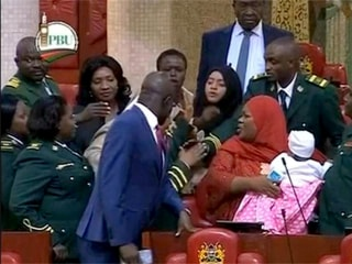 Female Kenyan lawmaker ejected after bringing her baby into Parliament