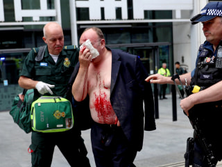 Stabbing at Britain's Home Office sees one man with injuries, another in custody