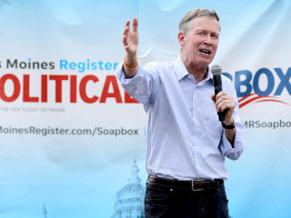 Hickenlooper drops out of presidential race and says he might run for Senate