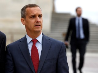 Trump urges Lewandowski to run for Senate during New Hampshire rally