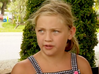 9-year-old girl bitten by shark in Florida says she's not afraid to get back in water
