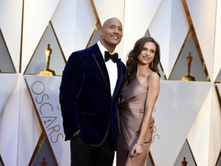 The Rock ties the knot with longtime girlfriend Lauren Hashian in Hawaii