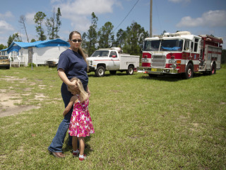 Florida firefighters says firehouse destroyed by Hurricane Michael now a life or death issue