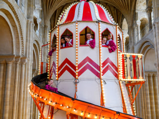 With attendance plummeting, church turns to a new solution: carnival rides