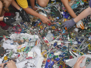 Bali fights back as tons of floating plastic threaten to spoil once-pristine paradise