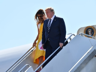 Trump arrives at G-7 summit fixated on trade war