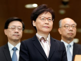 Hong Kong's Carrie Lam withdraws extradition bill that prompted protests