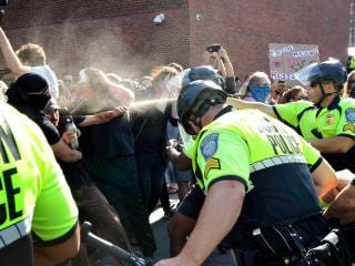 Ocasio-Cortez, Pressley help raise bail for 'Straight Pride' counterprotesters