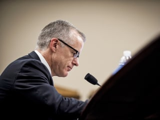Andrew McCabe's lawyers urge prosecutors not to keep pursuing charges