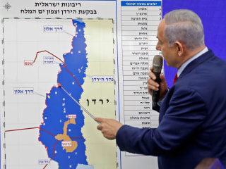 Netanyahu seeks to annex  parts of West Bank 'in coordination' with U.S.